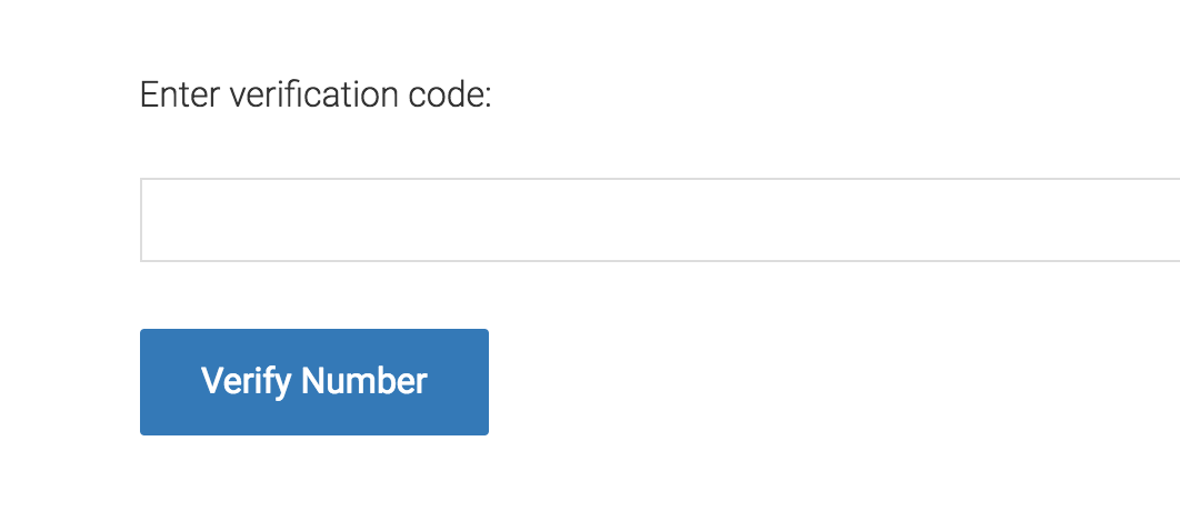 Verify Number